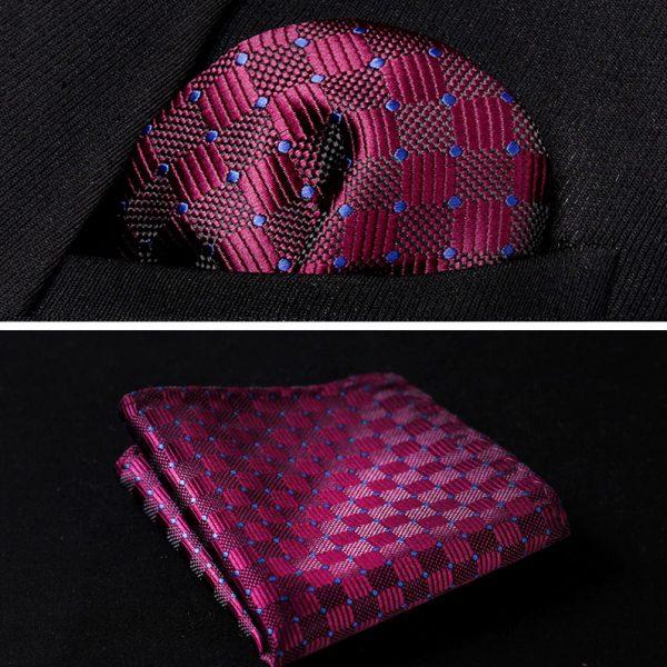 purple modern handkerchief for gentlemen