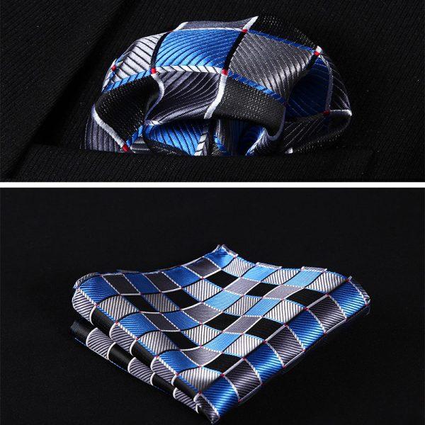 royal blue handkerchif
