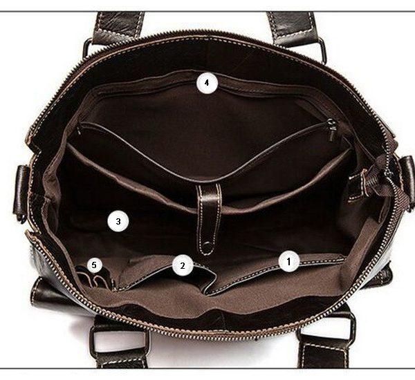 laptop leather bag for men