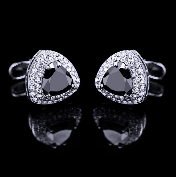 Luxury Black Onyx Cufflinks mont-blanc-david-yurman-tiffany-swank Cufflinks from Gentlemansguru.com