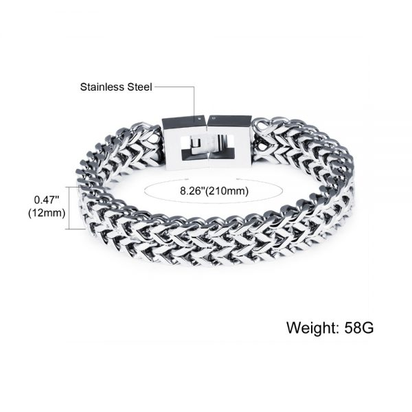 Men's Fashion Steel Bracelet