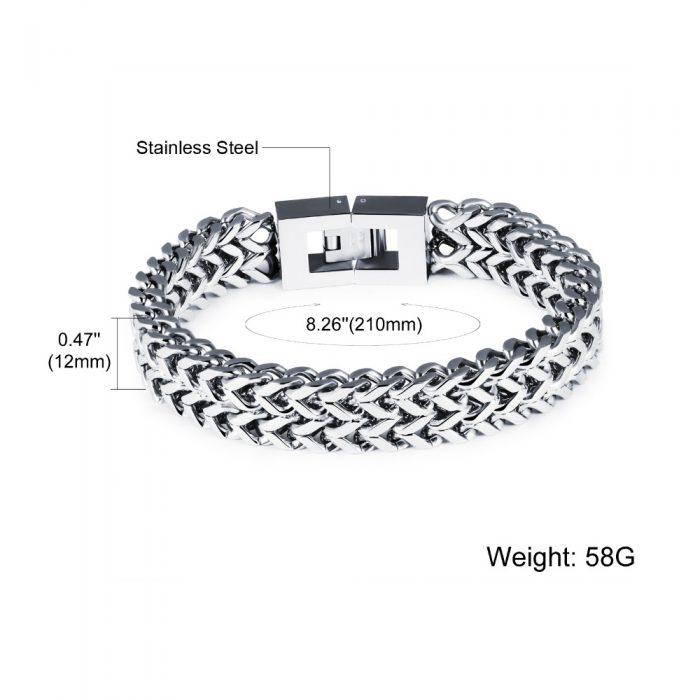 Men's Fashion Steel Bracelet