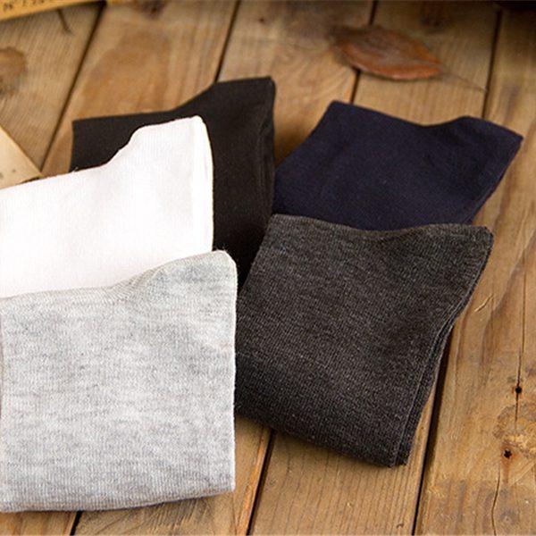 Argyle Dress Socks 5 PCS for Men