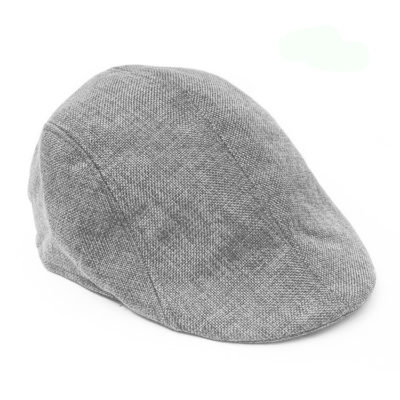 Gentleman's Gray Retro Beret Hats