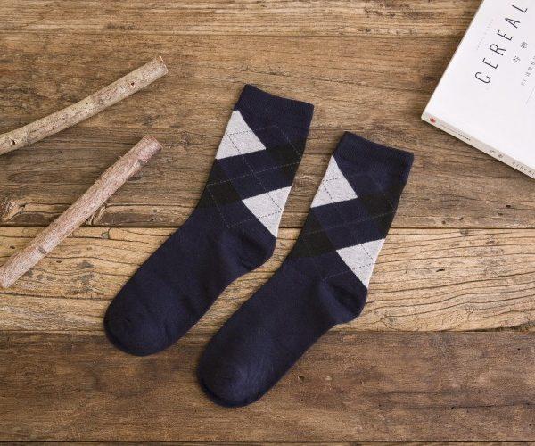 navy dress socks for men
