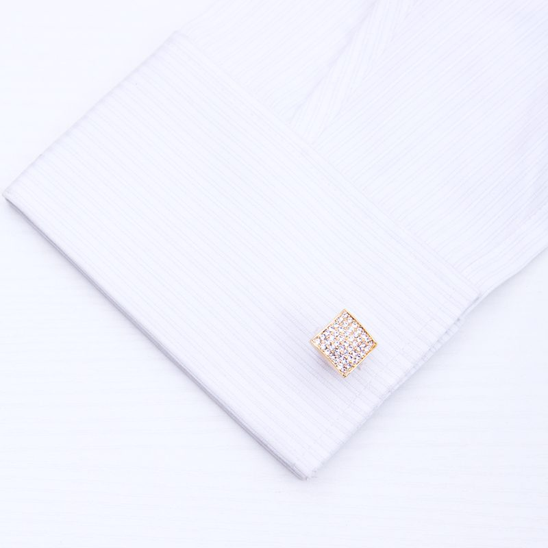 18K Gold Wedding Cufflinks for Men