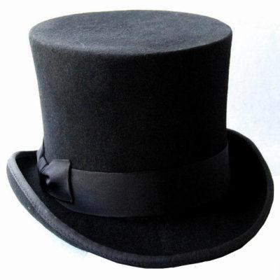 Black Top Hats