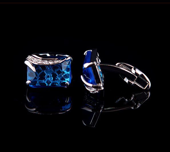 Blue Gemstone Cufflinks