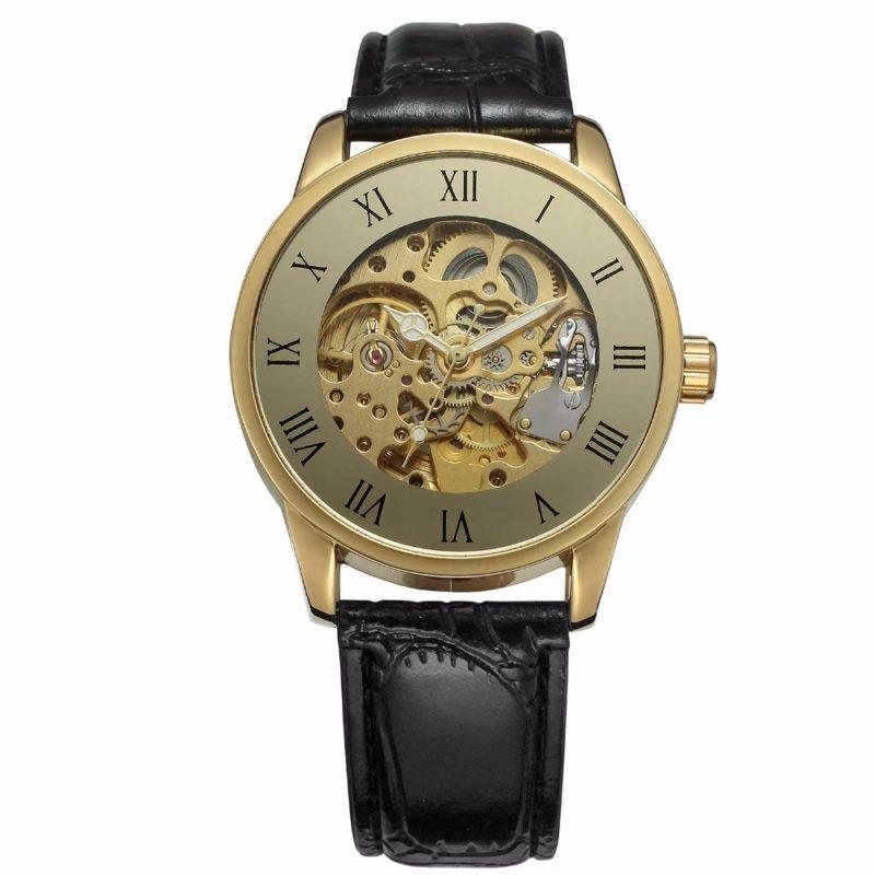 Luxury Bronze Mechanical Watch