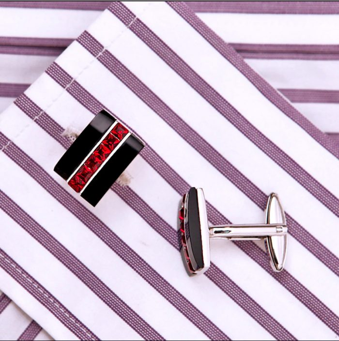Button Shirt Tuxedo-Wedding-Groom-French-Cuff Shirt Cufflinks from Gentlemansguru.com