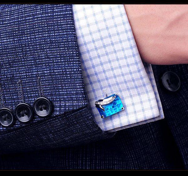 Fancy Gemstone Cufflinks