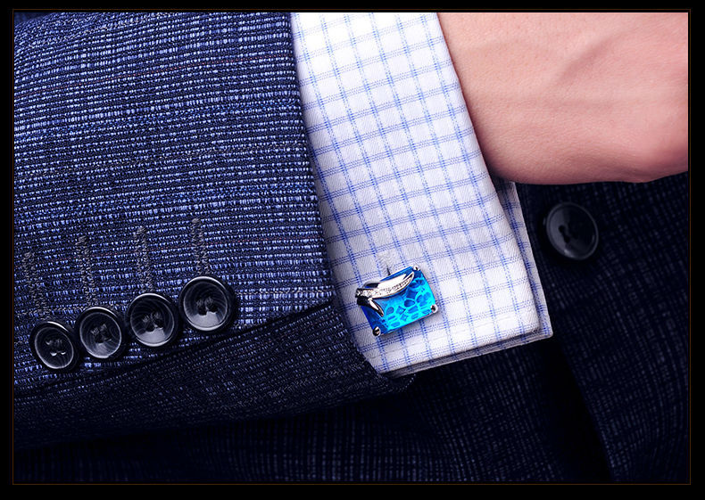 Fancy Gemstone Cufflinks