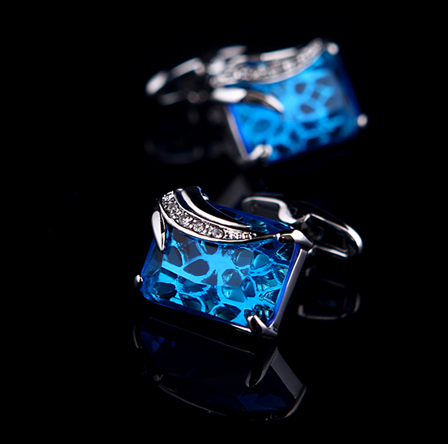 Gentleman's Fancy Gemstone Cufflinks