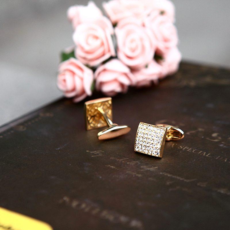 Gentleman's Luxury Wedding Cufflinks