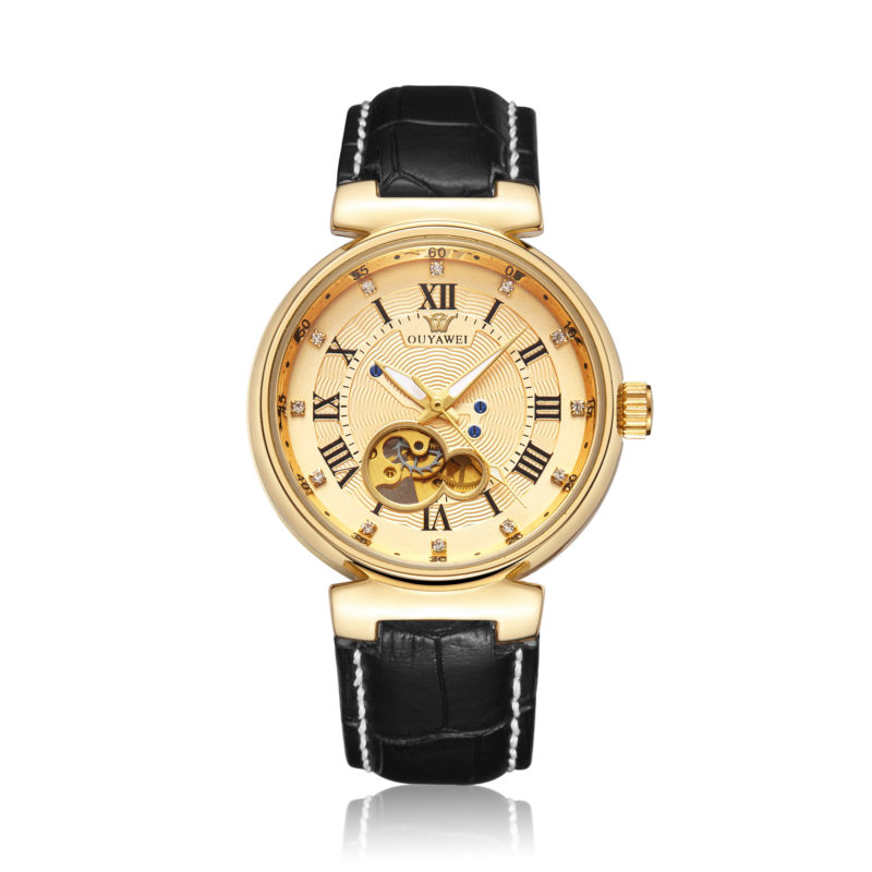 Gold Vintage Style Wrist Watch