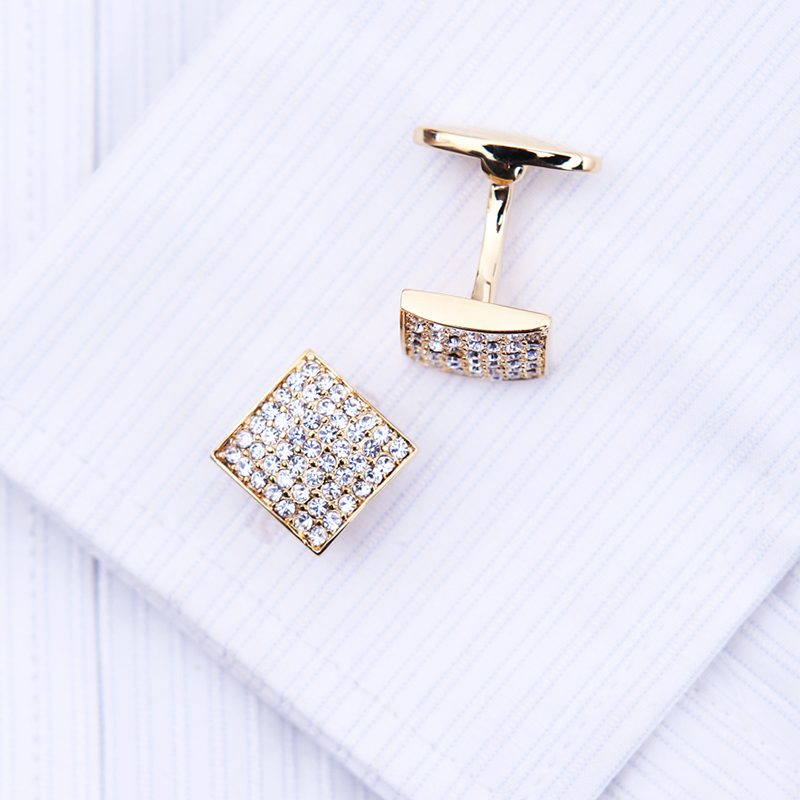 Gold Wedding Cufflinks for Men