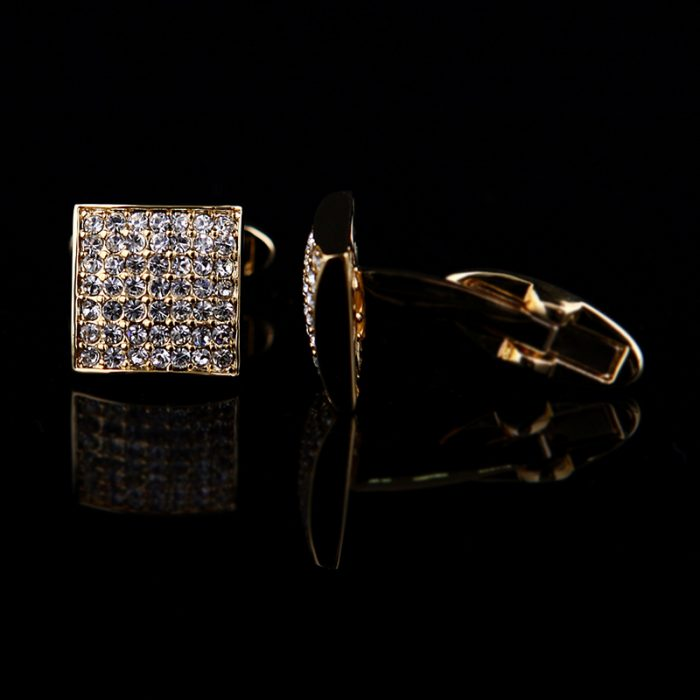 Gold Wedding Cufflinks