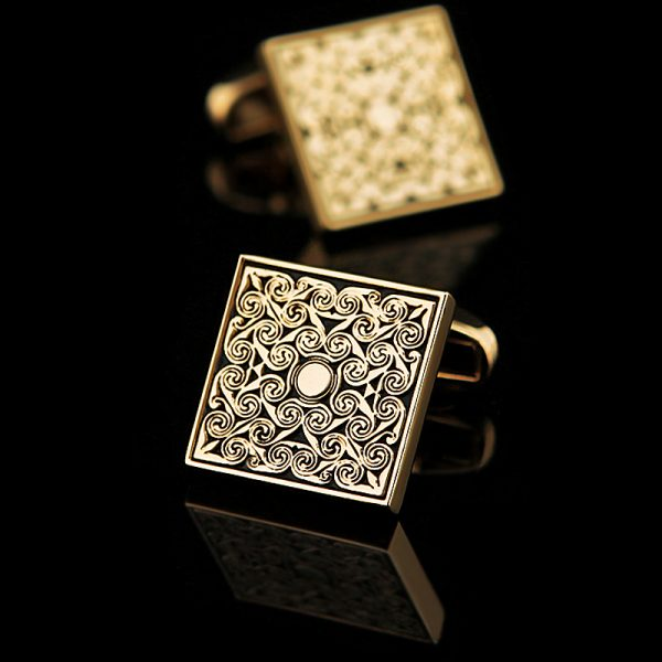 Vintage Gold Cufflinks Set from Gentlemansguru.com