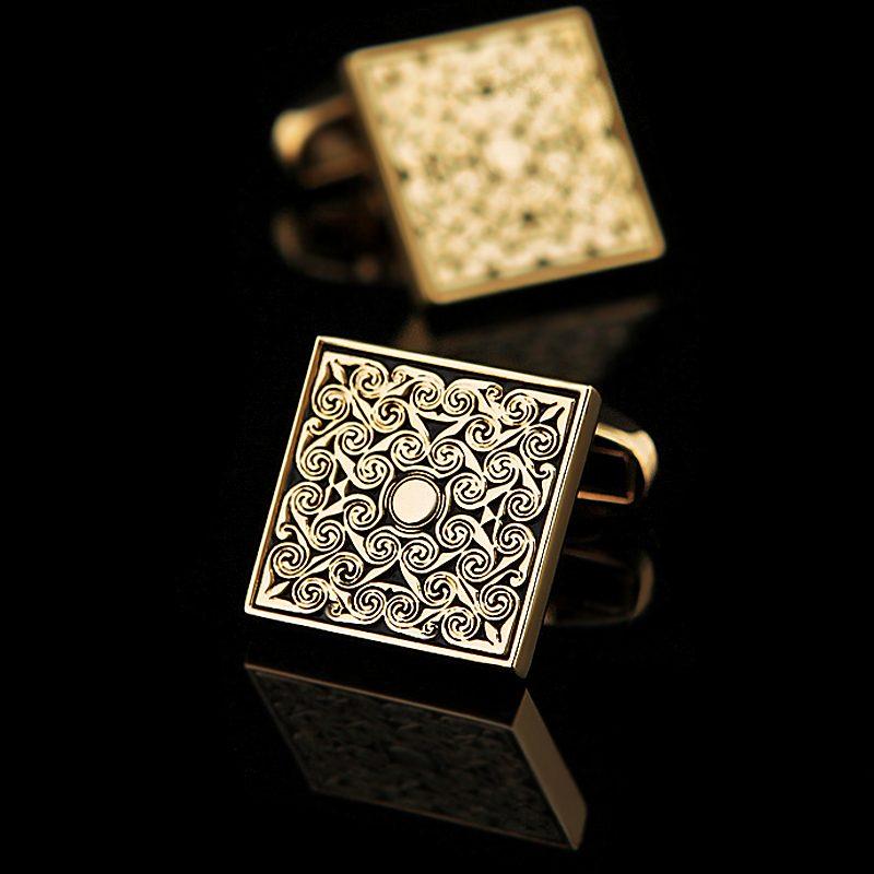 Vintage Gold Cufflinks Set from Gentlemansguru.com