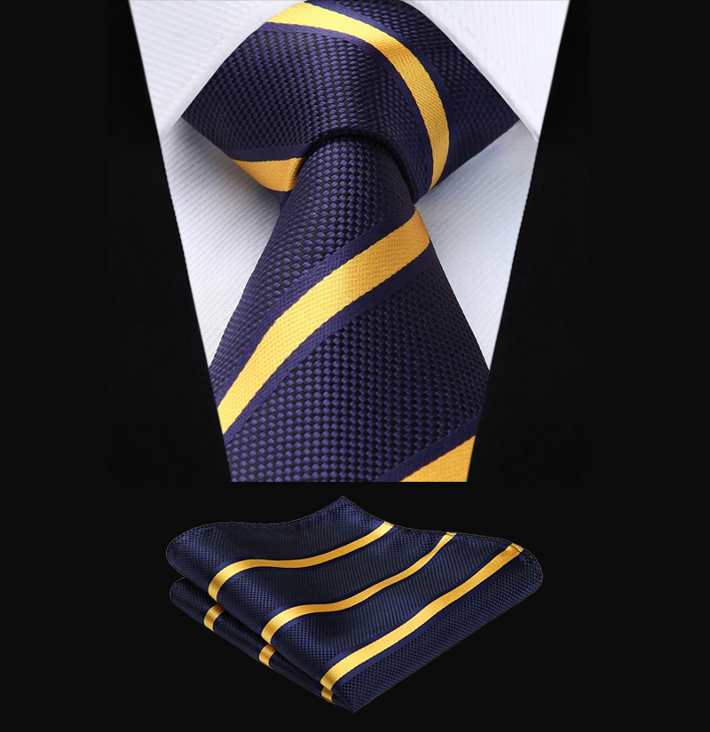 Navy-Blue-and-Gold-Tie-Set-from-Gentlemansguru.ccom