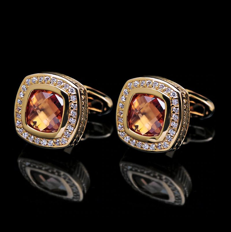 18k Gold Cufflinks Fro Sale in Vintage Style and Luxury Desing from Gentlemansguru.com