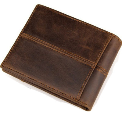 Fashion Leather Wallet 100% Handmade