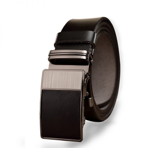 Gentleman's Black Buckle Belts