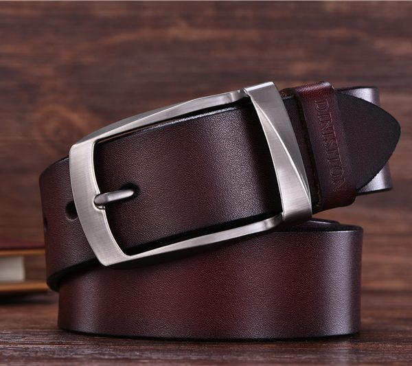 Gentleman's Coffee Leather Belts