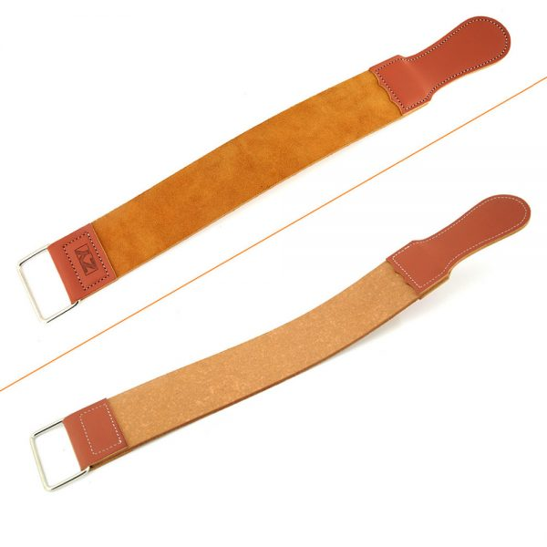 Leather Belt Razor Strop Set