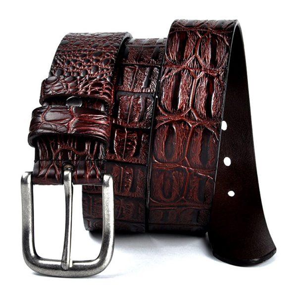 Leather Gentleman's Designer Belts