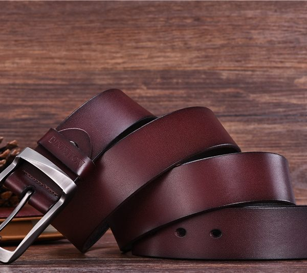 Quality Coffee Leather Belts