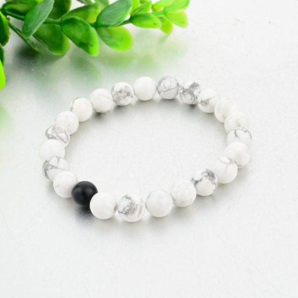 Classic Natural Stone Bracelet Set