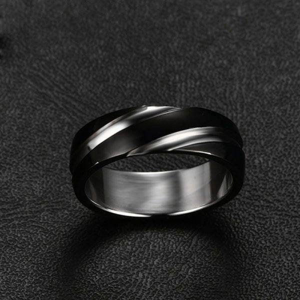 Men's Fashionable Stainless Steel Ring
