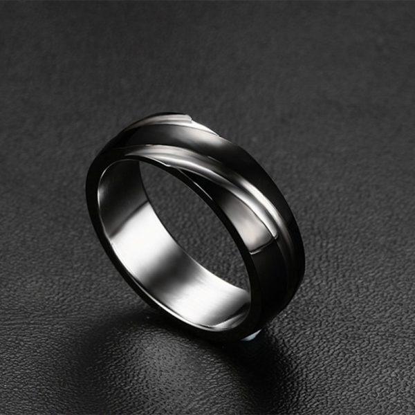 Men's Fashionable Steel Ring