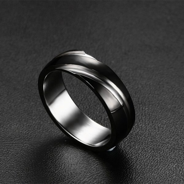Men's Modern Fashionable Steel Ring