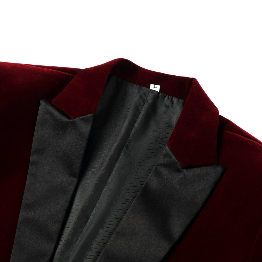 Burgundy Velvet dinner jackets
