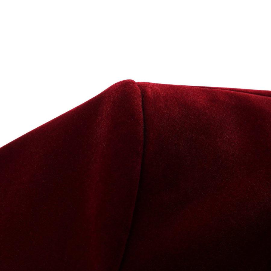 Burgundy Tux Velvet jacket