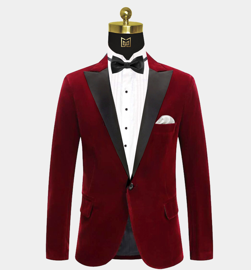 Peak-Burgundy-Velvet-Tuxedo-Jacket-Prom-Blazer-Dinner-Jacket-from-Gentlemansguru.com