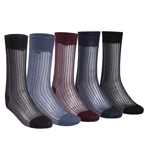 Men's Silk Dress Socks