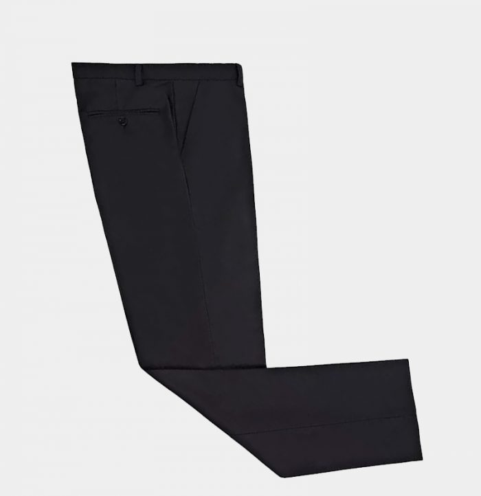Black Solid Tuxedo Pant from Gentlemansguru.com