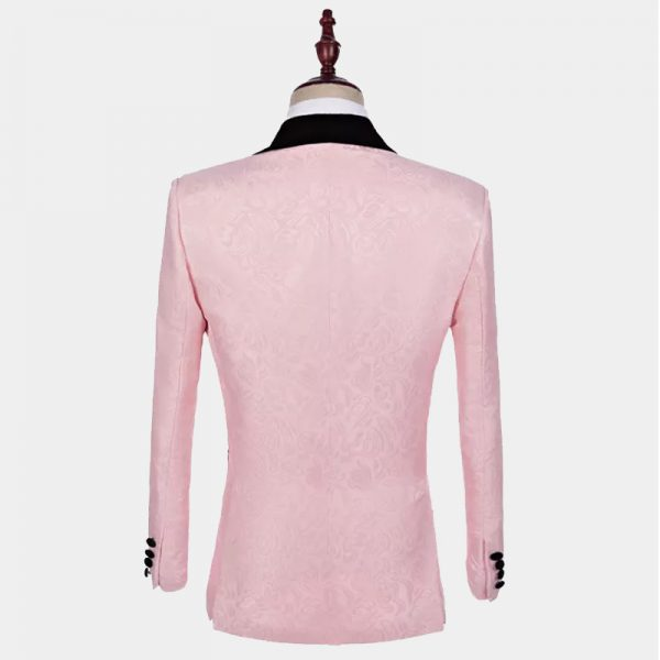 Men's Pale Pink Tuxedo Jacket from Gentlemansguru.com