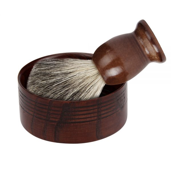 Wooden Shaving Brush set