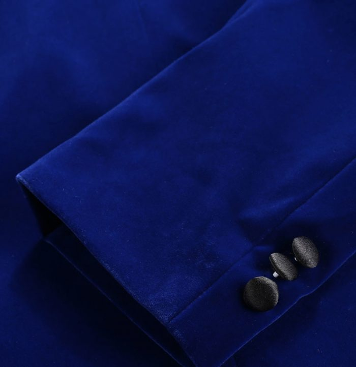 Mens Royal Blue Velvet Blazer Dinner Jacket Top Tuxedo For Prom-Wedding from Gentlemansguru.com
