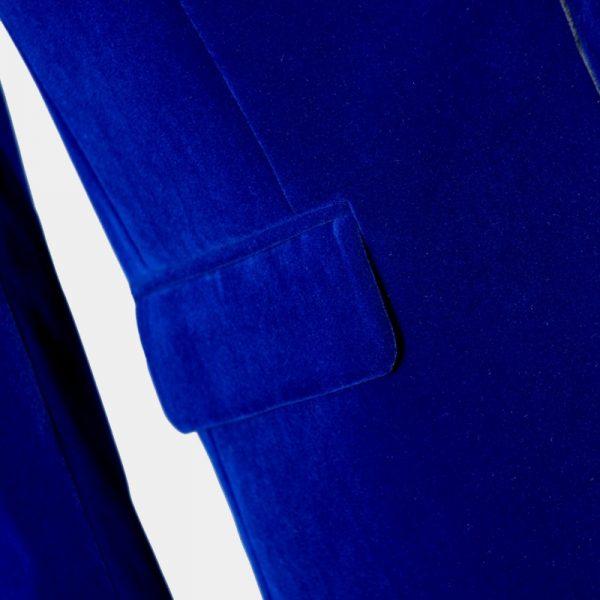 Royal Blue Velvet Tuxedo Dinner Jacket from Gentlemansguru.com