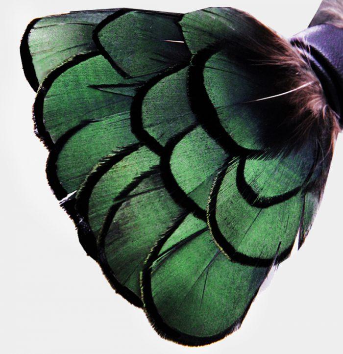 Brackish Duck Feather Bow Tie from Gentlemansguru.com