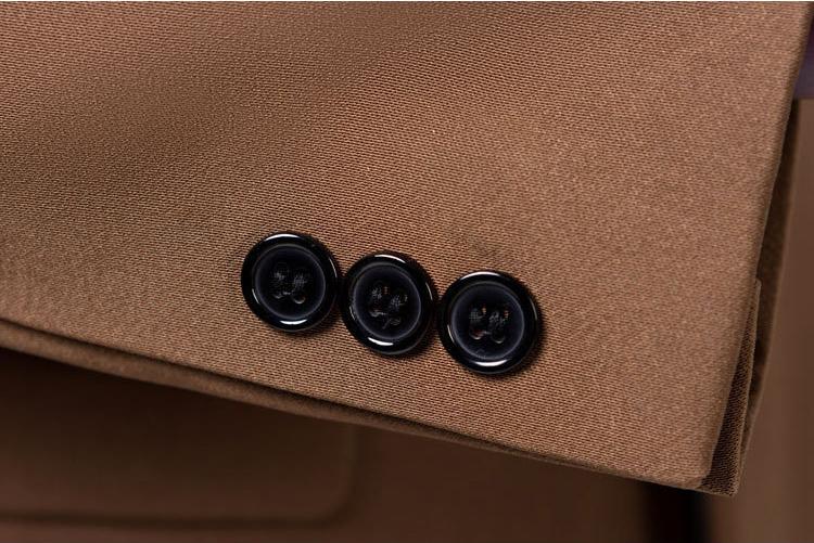 Brown Tuxedo Blazer for Men