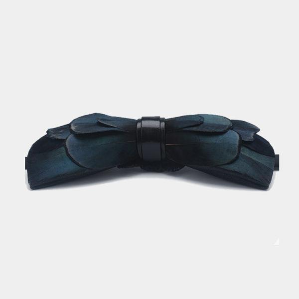 Mallard Duck Feather Bow Tie from Gentlemansguru.com
