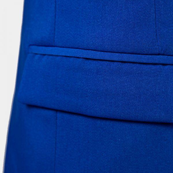 Mens Blue Tuxedo Jacket All Black Tuxedo Blazer from Gentlemansguru.Com