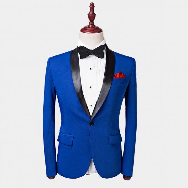 Mens Blue Tuxedo Jacket