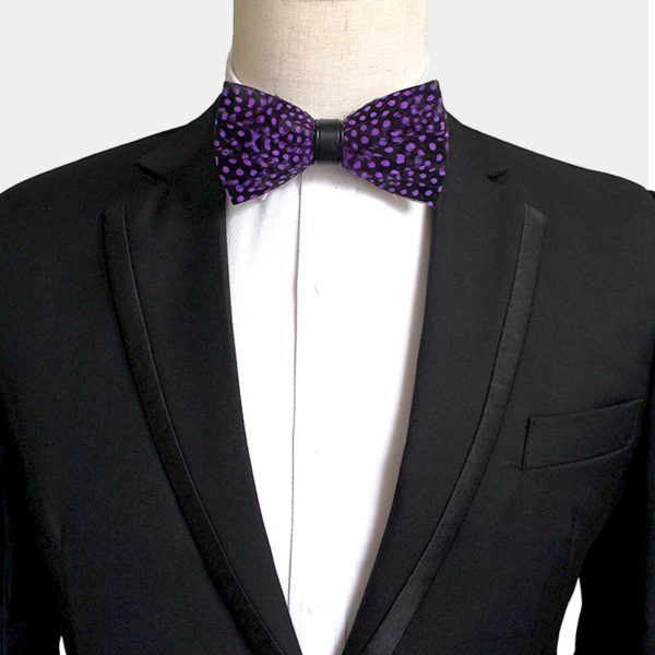 Quail Feather Bow Tie from Gentlemansguru.com